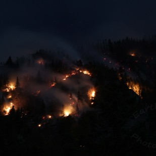 Dilly Cliff fire 2017